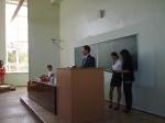 Вручение студенческих билетов 2011-1